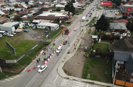 Serviu informa intervenciones del proyecto de mejoramiento de Avenida O'higgins y Bullock de Angol.