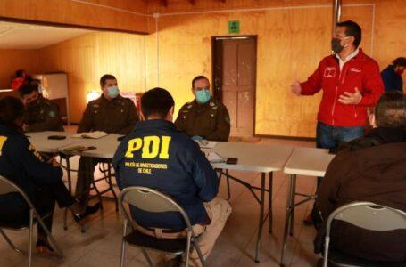 Gobernador Encabeza Reunión De Seguridad Ciudadana Con Junta De Vecinos Y Organizaciones Sociales De Radal
