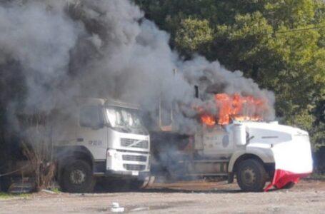En Prisión Preventiva Queda Imputado de Incendiar Camión en Servicentro Copec en Collipulli