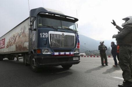 Camioneros Anuncian Paro Nacional Desde El Jueves Ante Violencia En La Araucanía