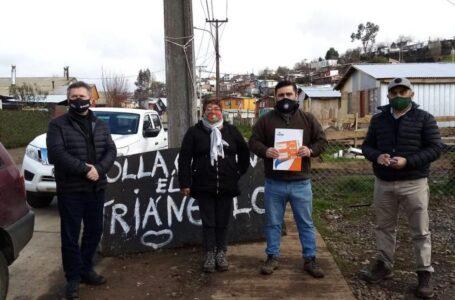 Core Sandoval Gestiona Con Empresa De Gas Abastible Apoyo Para Ollas Comunes De Temuco-Padre Las Casas