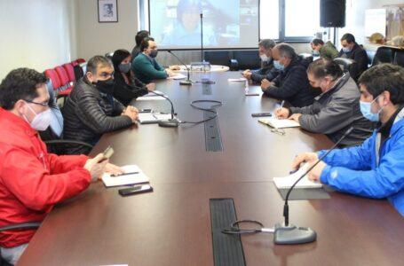 Intendente Se Reúne Con Alcaldes Afectados Por Toma Para Trabajar En Proceso De Reconstrucción