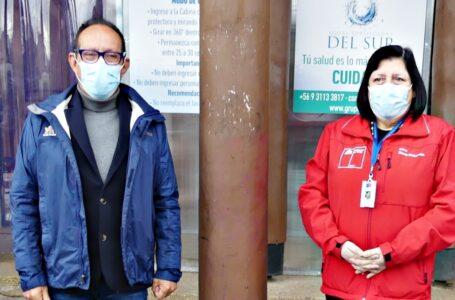 Seremi De Salud Y Alcalde De Villarrica Analizan Situación De La Comuna Respecto A La Pandemia Por Covid-19