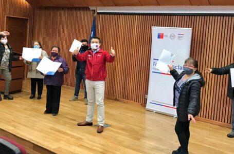 Gobernación De Cautín Entregó Financiamiento A Ocho Organizaciones Sociales De Temuco