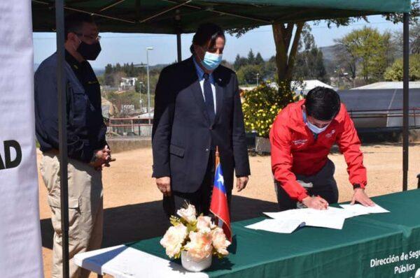 Alcalde de Collipulli logra materializar la llegada de la Policía de Investigaciones a la comuna