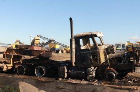 Gremio de Dueños de Camiones Rechaza Ataque Que Destruyó Maquinaria en Carahue