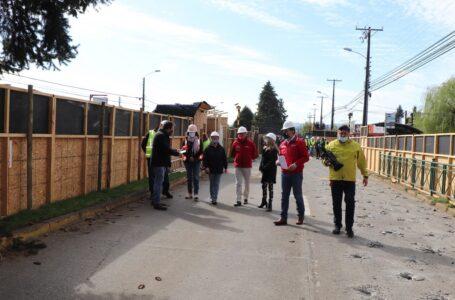 Inician Obras De La Segunda Etapa Del Colector San Martín En Temuco
