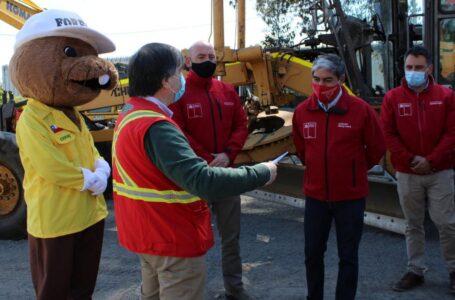 Forestín solicitó al MOP el apoyo de maquinaria para hacer cortafuegos en La Araucanía