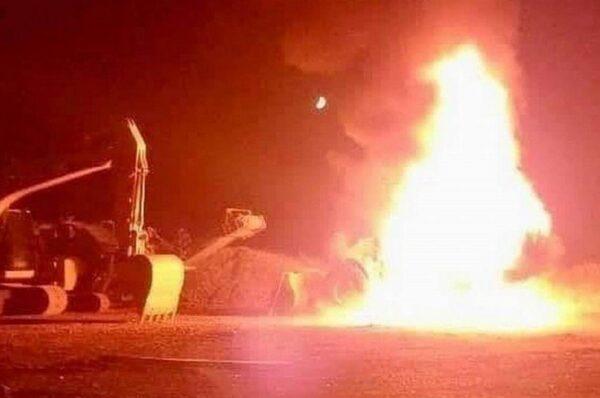 Ataque Incendiario Deja al Menos 12 Máquinas Destruidas en Carahue