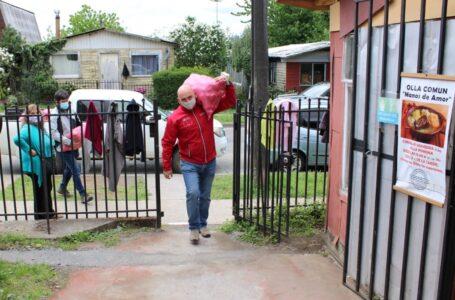 Ocho comedores solidarios reciben alimentos donados por productores del sector agrícola regional
