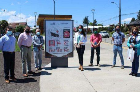 Intendente Manoli Participa De La Instalación De Paleta Informativa Del Eclipse En Curacautín