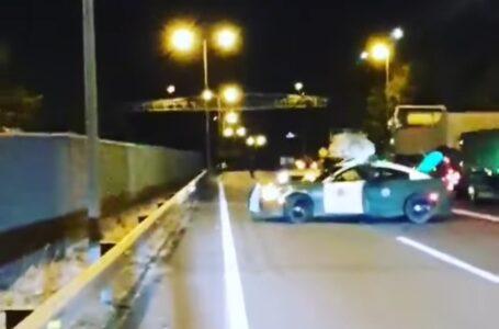 Disparan a Vehículo Blindado de Carabineros Durante Barricadas en Ruta 5 Sur en Ercilla
