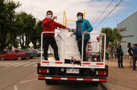 Gobernación Cautín entregó dos camiones aljibes cero kilómetro a municipio de Cholchol