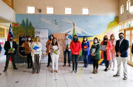 Medio Ambiente y FRONTEL premiaron al ganador del concurso de pintura escolar