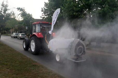 Municipio de Temuco junto a seremi de Agricultura inician proceso de sanitización de las calles