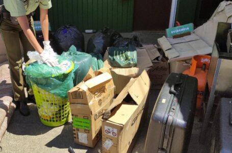 Carabineros de Padre Las Casas detiene a dos sujetos por robo a camión de mudanzas
