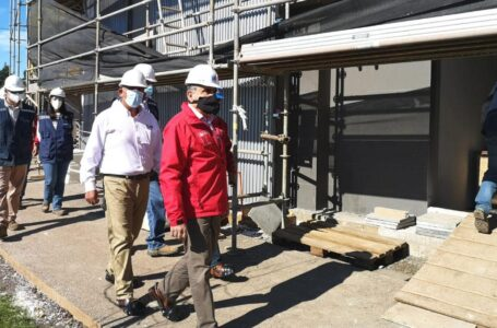 Un 86% de avance presentan las obras del nuevo Hospital de Collipulli