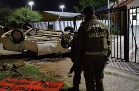En Internación Provisoria Quedó Adolescente Que Chocó Tras Robar un Vehículo en Temuco