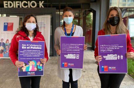 En Temuco: Autoridades lanzaron campaña contra la violencia en el pololeo