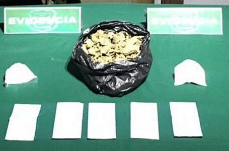Carabineros del OS-7 sorprende en Perquenco a conductor con marihuana elaborada y cocaína