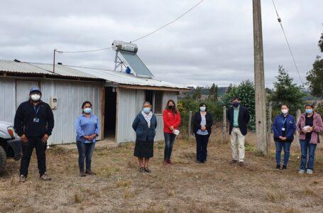 Comunidad indígena de Nueva Imperial implementó sistema de paneles solares