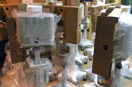 Minsal envía ventiladores mecánicos y monitores a establecimientos hospitalarios