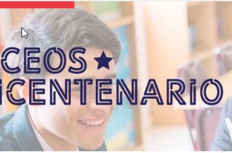 Autoridades regionales realizan Firma de Compromiso con los 10 nuevos Liceos Bicentenario