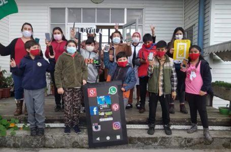 Frontel junto a Fundación APPtitudes entregaron premios a escuelas rurales de Lonquimay, Cunco y Lautaro