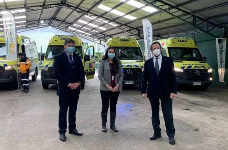Servicio de Salud Araucanía Sur hace entrega de 6 Nuevas Ambulancias para establecimientos de la Red