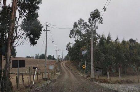 Nueva red eléctrica construyó Frontel en sectores rurales de Galvarino y Temuco