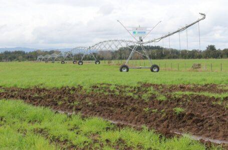 Subsecretario Pinochet entregó bonos de riego de pequeña agricultura para aumentar la eficiencia del agua
