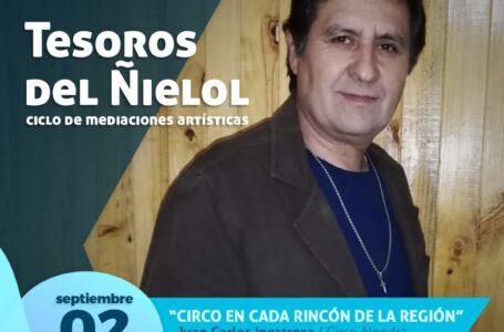 Circo Alondra será el encargado de dar vida al primer capítulo de septiembre de Tesoros del Ñielol